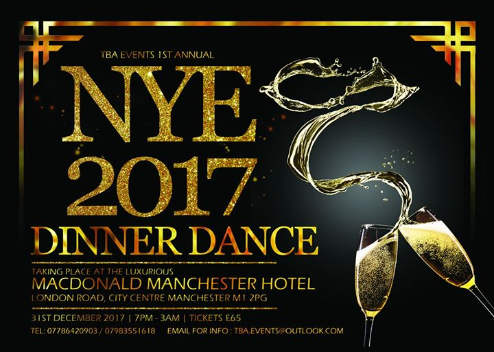 TBA 1st Annual New Years Eve Event 2017 Dinner Dance | Blacknet UK
