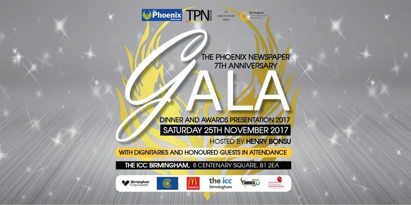 The Phoenix Newspaper Gala Dinner and Awards Presentation 2017 | Blacknet UK