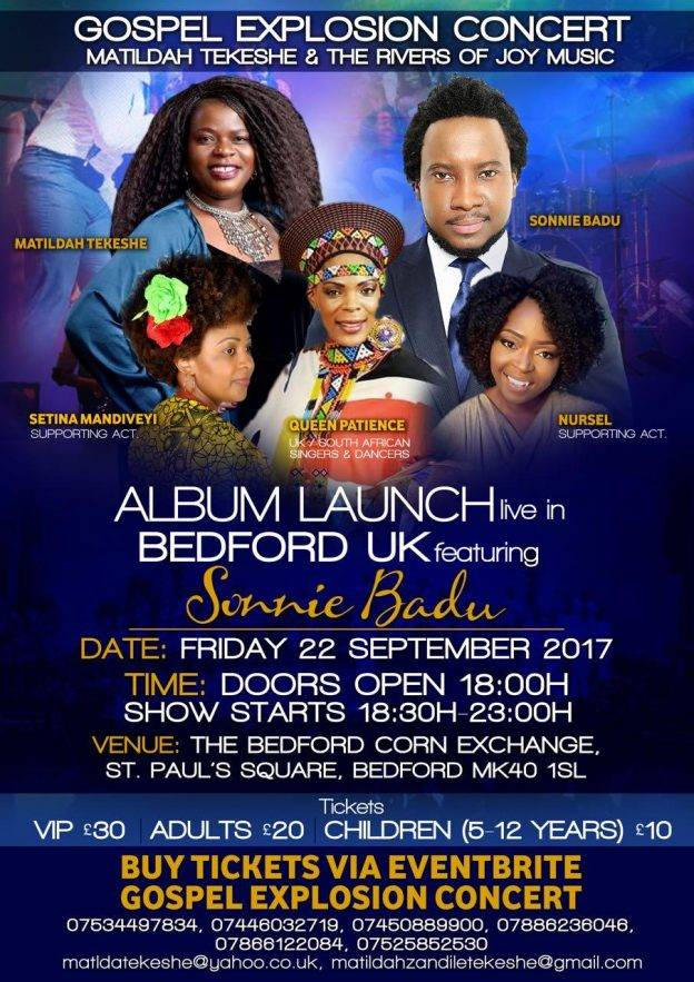 Gospel Explosion Concert | Blacknet UK