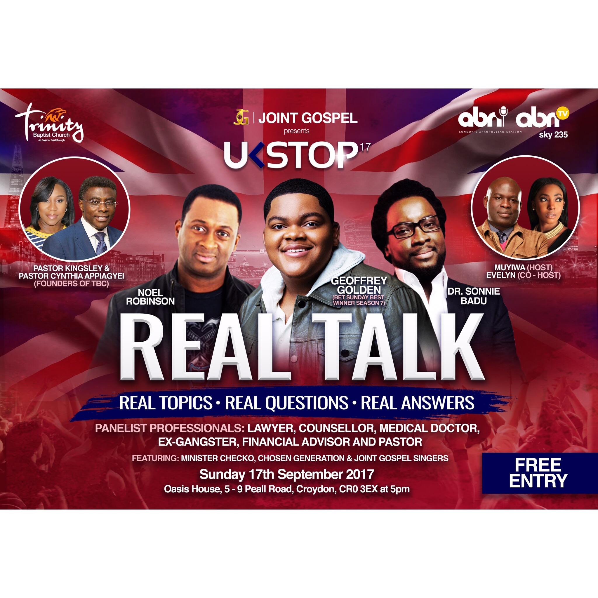 REAL TALK - UKSTOP17 | Blacknet UK