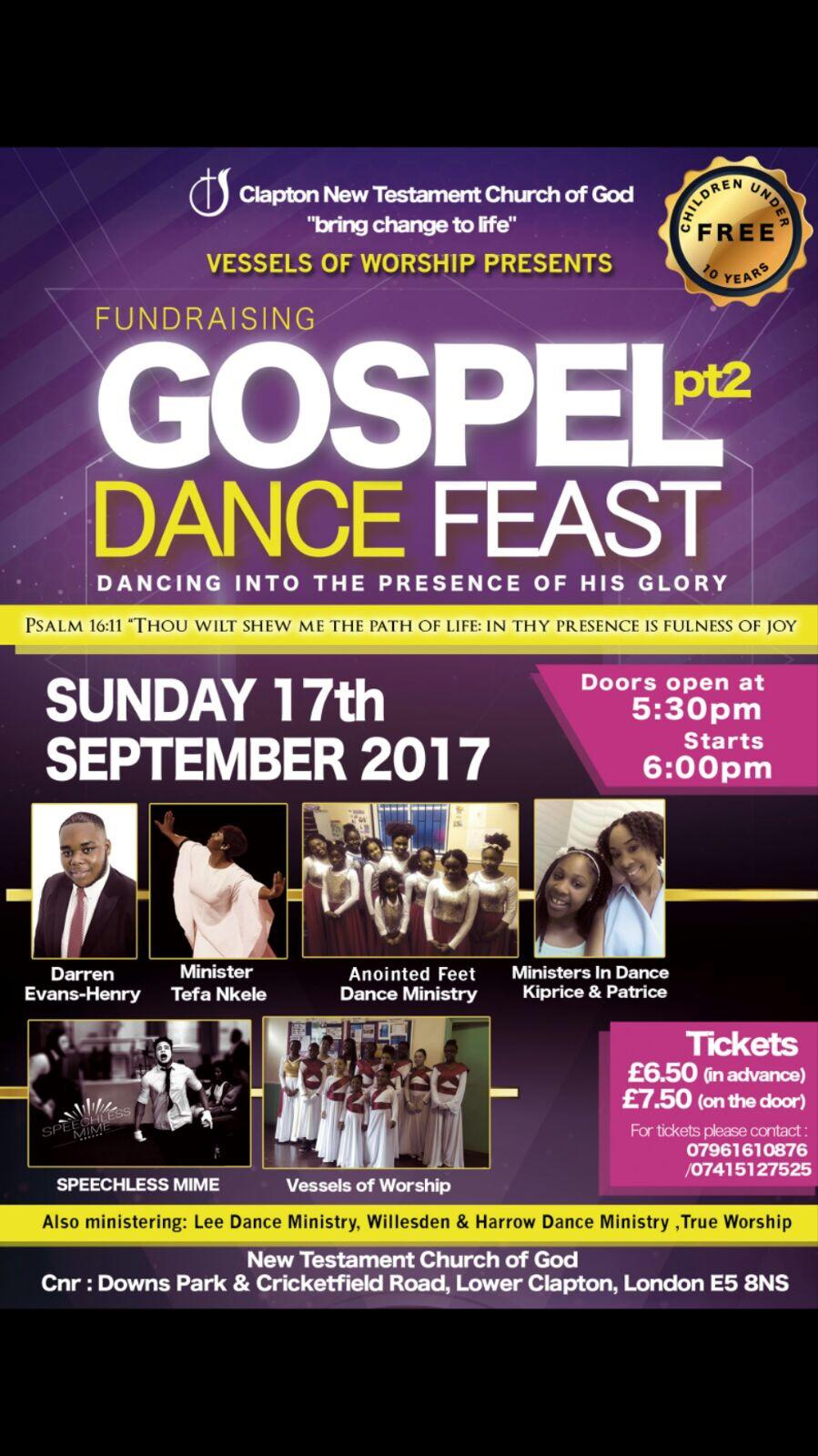 Gospel Dance Feast Pt 2 | Blacknet UK