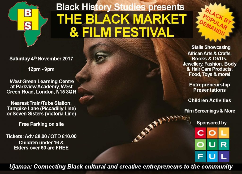 The Black Market & Film Festival - Saturday 4th November 2017 | Blacknet UK