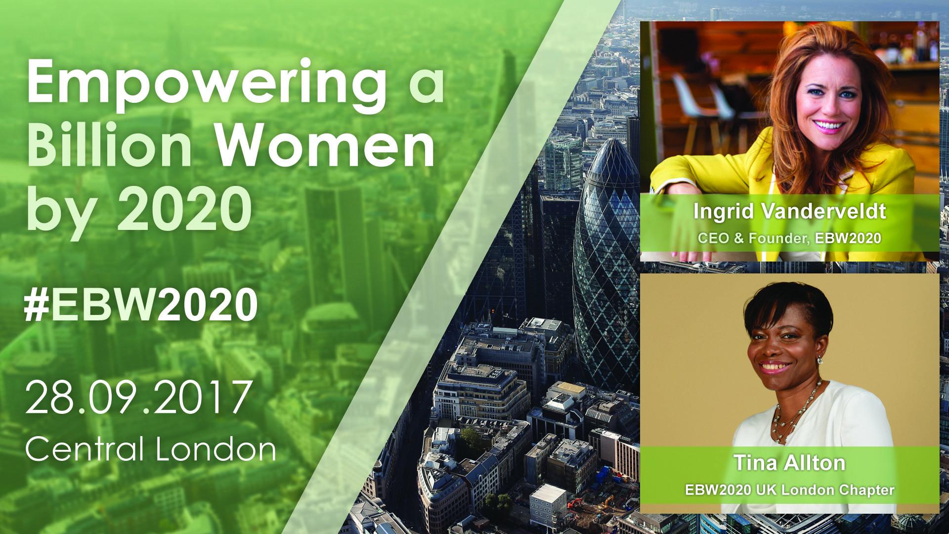 EBW2020 - UK London Launch Celebration. 28.09.17   Blacknet UK