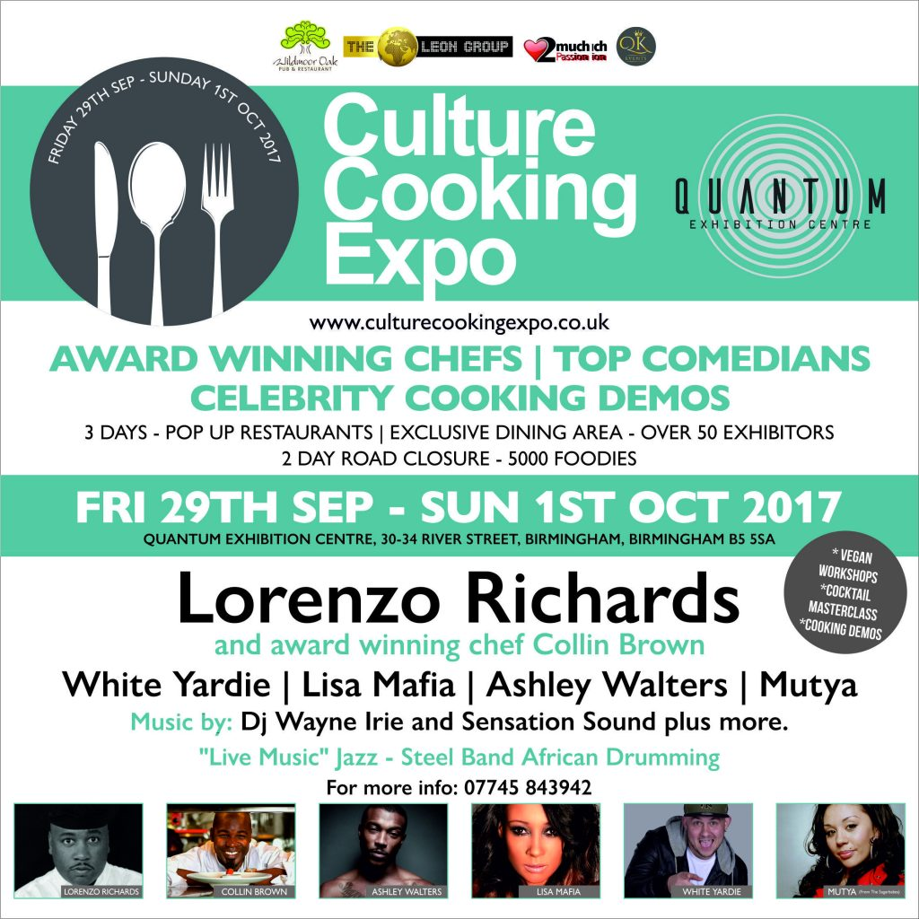 CULTURE COOKING EXPO | Blacknet UK