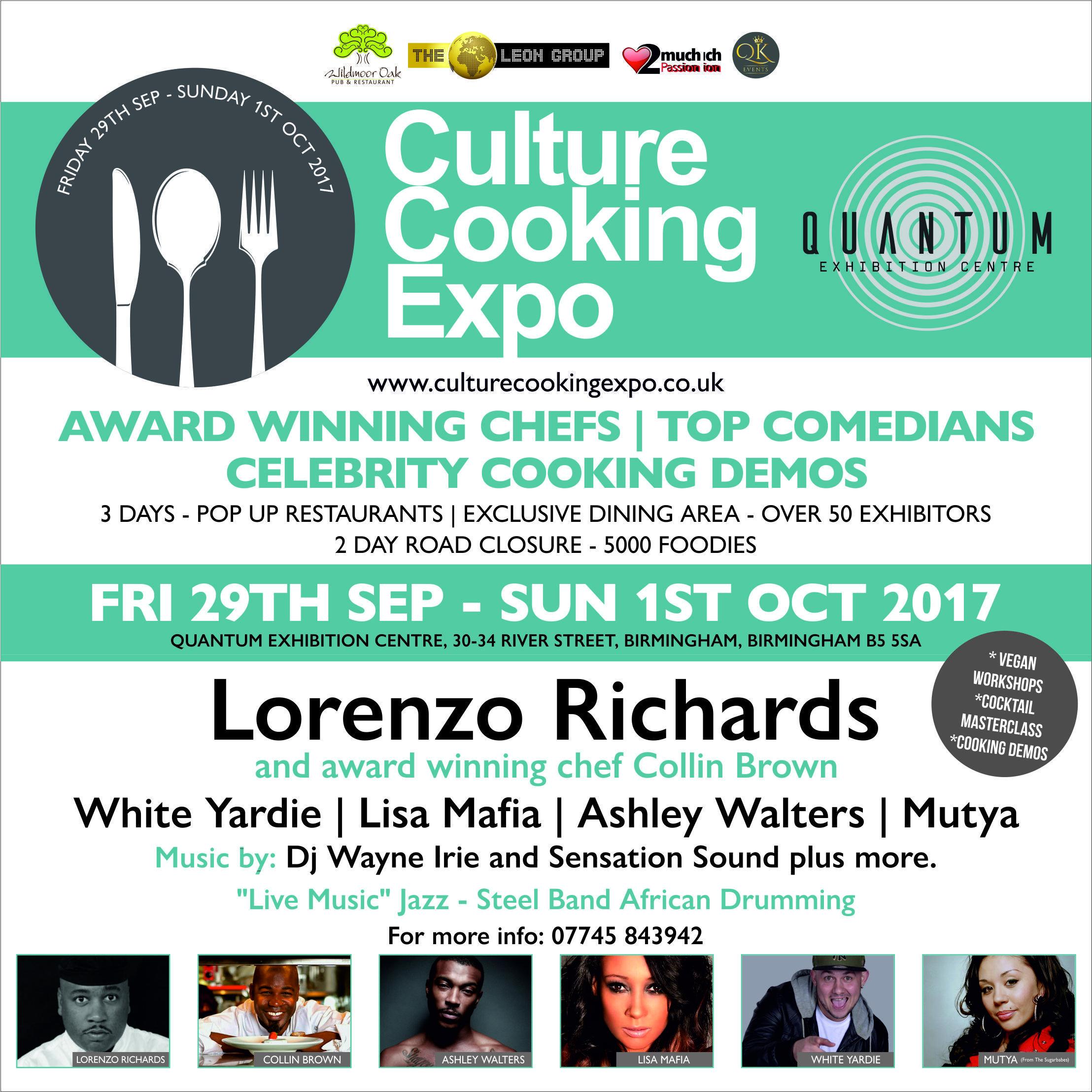 CULTURE COOKING EXPO | Blacknet UK