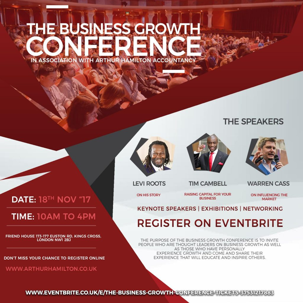 The Business Growth Conference | Blacknet UK