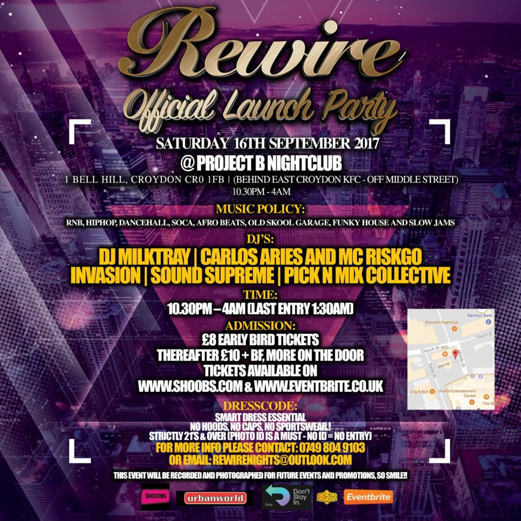 Rewire - Official Launch Party | Blacknet UK