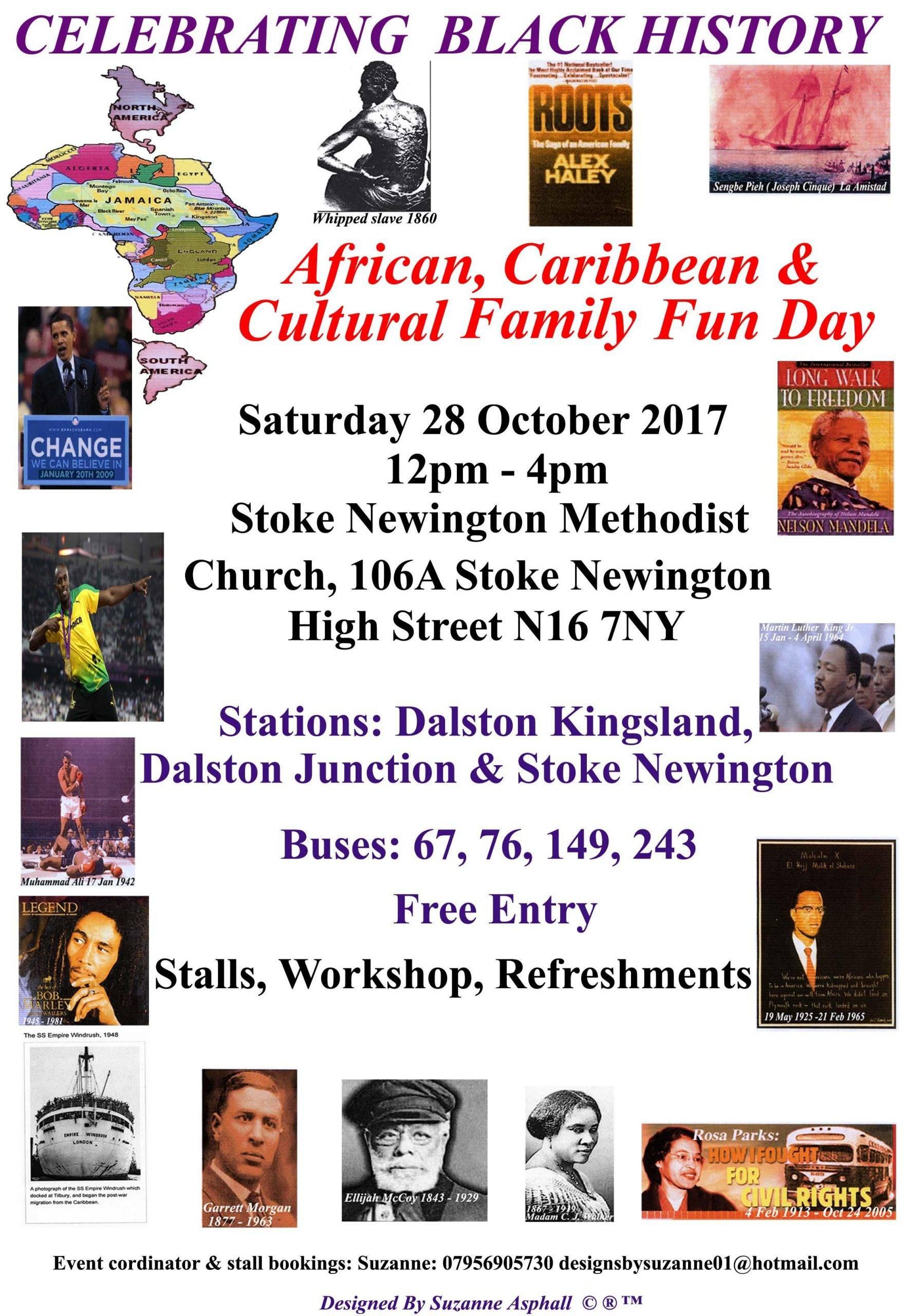 Celebrating Black History & Craft Fair   Blacknet UK
