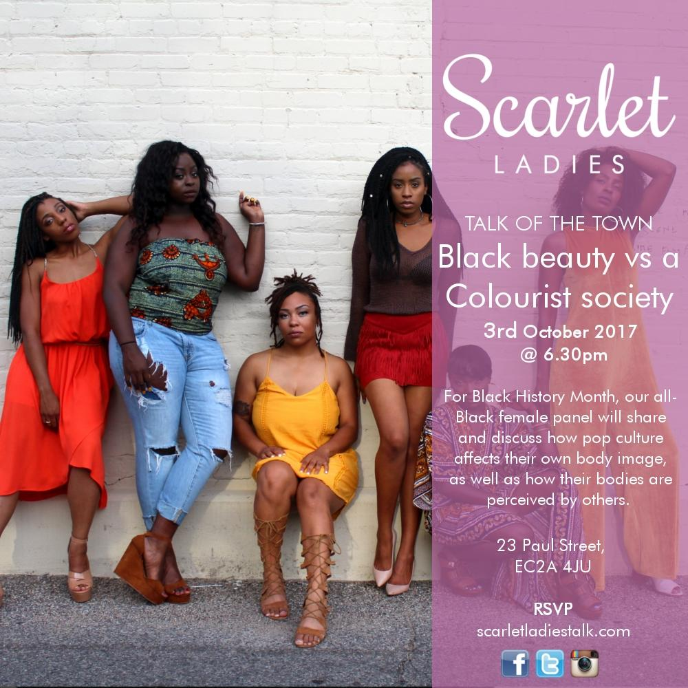 Black History Month - Black Beauty vs a Colourist Society | Blacknet UK
