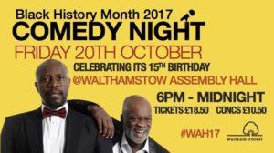 Black History Month Comedy Night 2017 | Blacknet UK