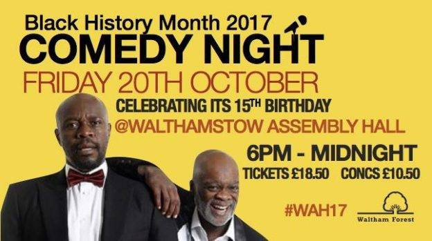 Black History Month Comedy Night 2017 | Blacknet UK
