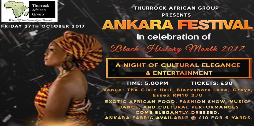 Black History Month 2017 - Ankara Festival | Blacknet UK