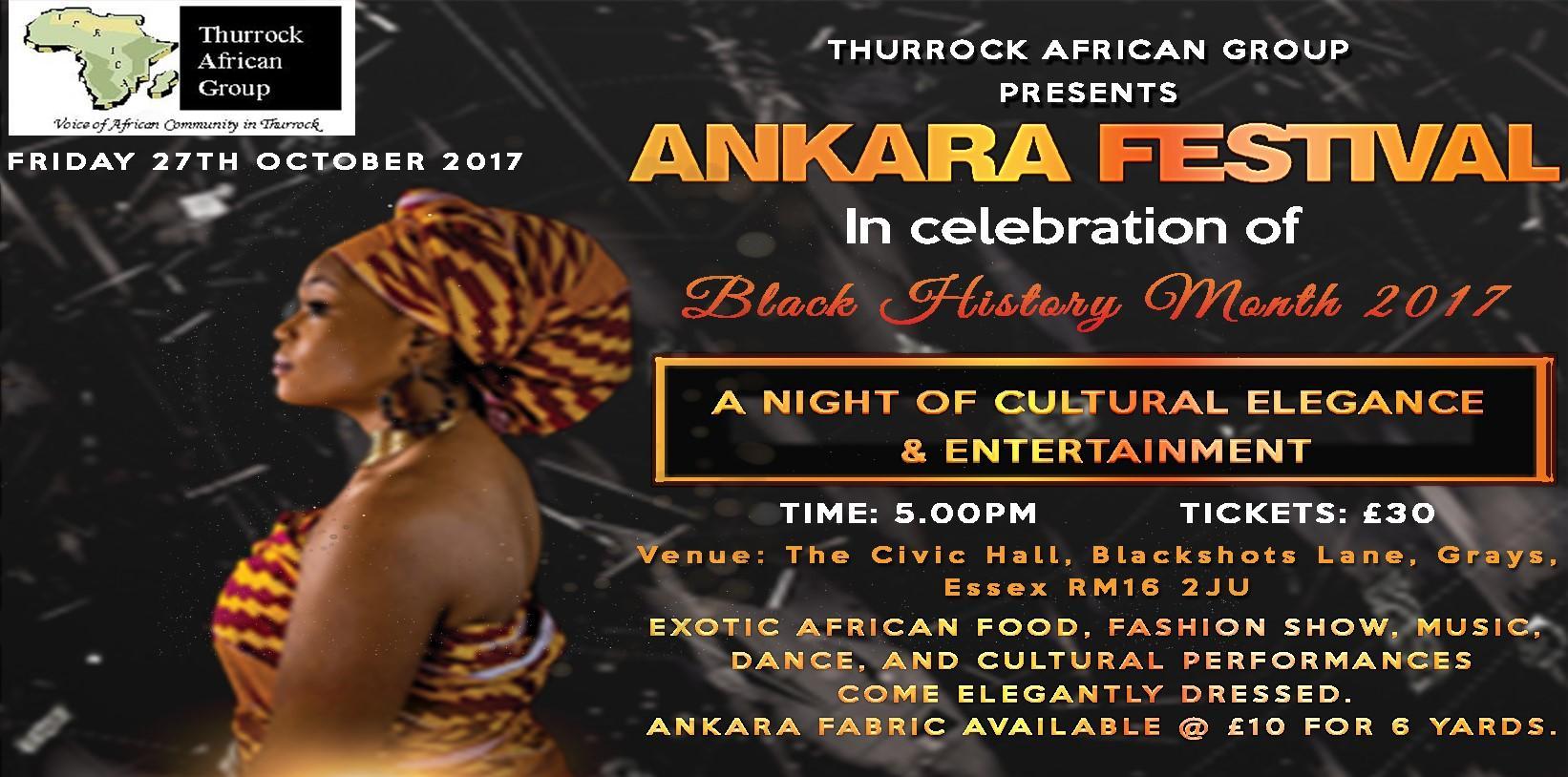 Black History Month 2017 - Ankara Festival | Blacknet UK