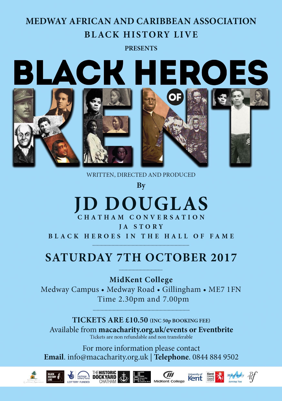 Black Heroes of Kent Matinee   Blacknet UK
