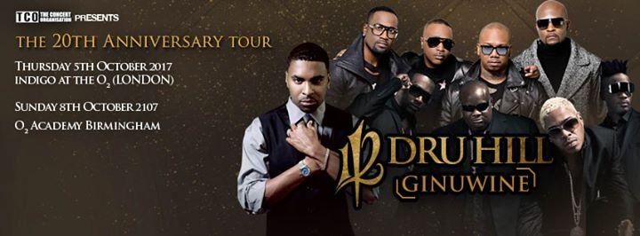 112, Dru Hill & Ginuwine - The 20th Anniversary Tour- Birmingham | Blacknet UK