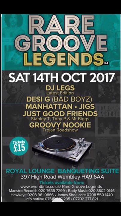 Rare Groove Legends 4 | Blacknet UK