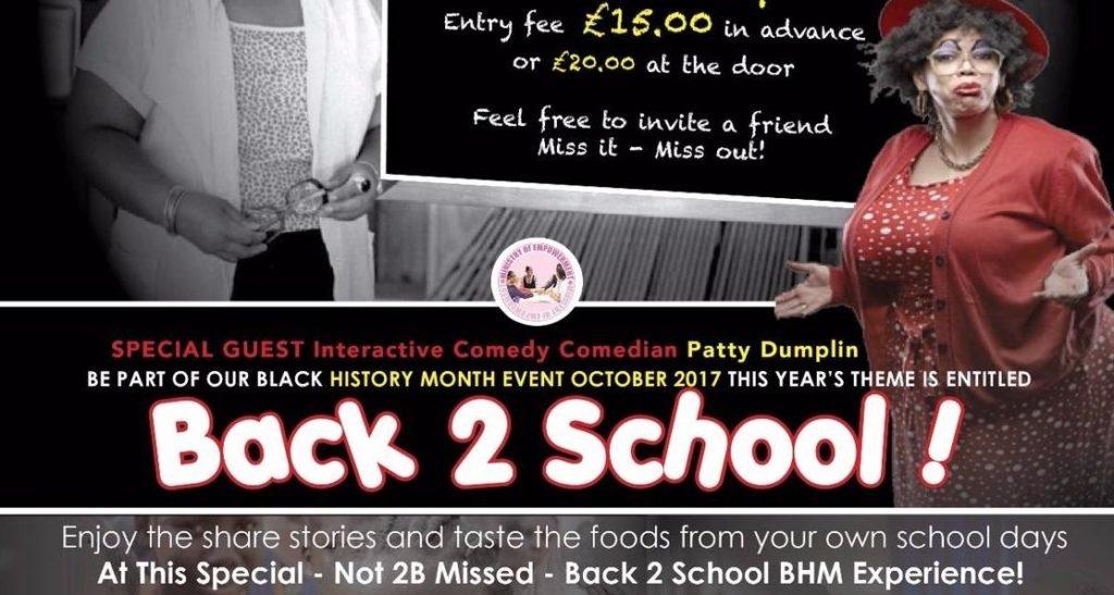 BLACK HISTORY MONTH - BACK 2 SCHOOL ! | Blacknet UK