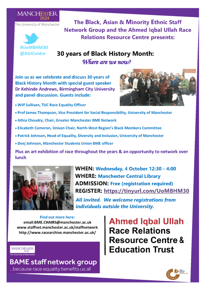 30 years of Black History Month. Where are we now? | Blacknet UK