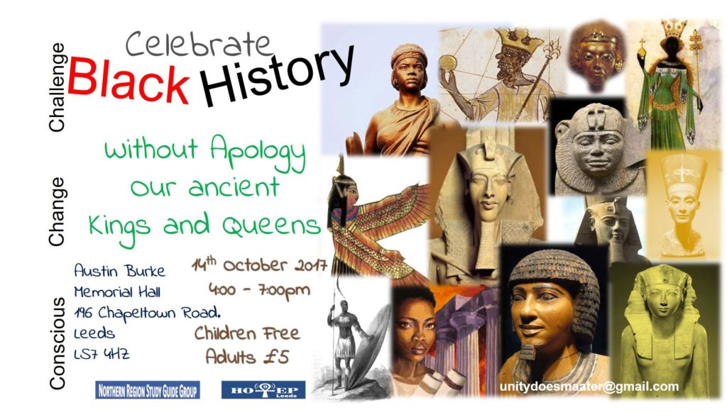 Join Our Black History Month Event presented by the Youngers - Ancient Heroes & Sheroes | Blacknet UK
