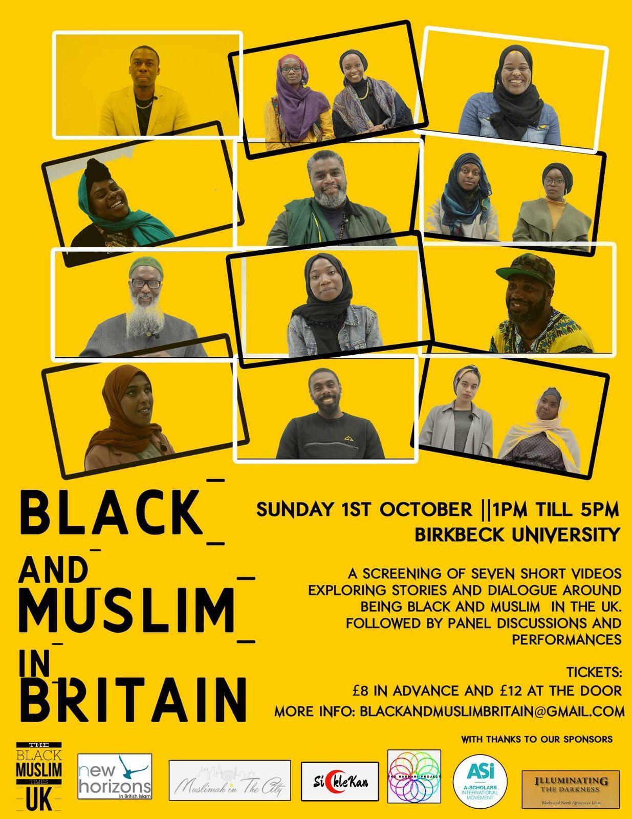 Black and Muslim in Britain Screening | Blacknet UK