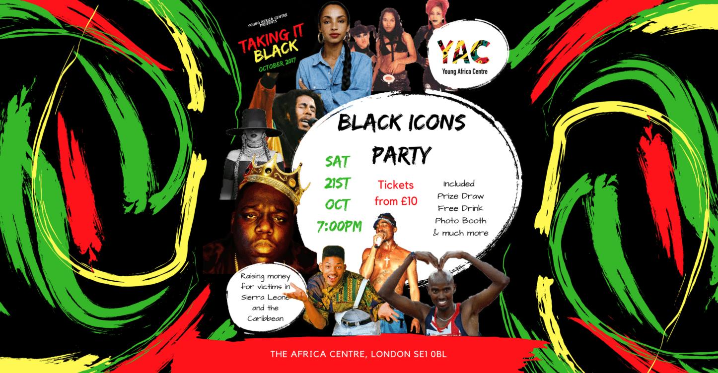 BLACK ICONS Party | Blacknet UK