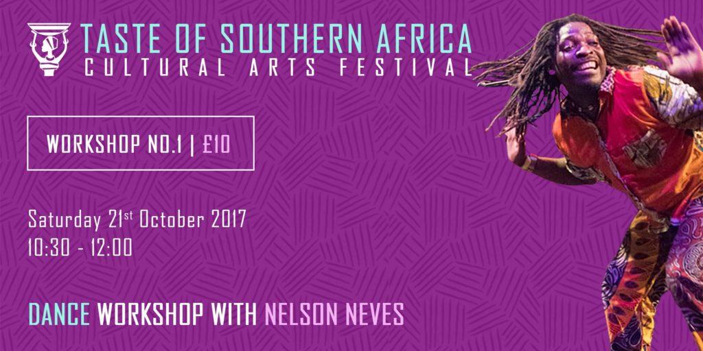 African Dance Workshop with Nelson Neves - Taste of Southern Africa | Blacknet UK