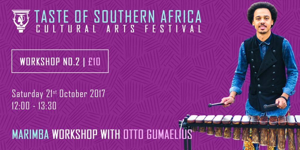 African Marimba Workshop with Otto Gumaelius - Taste of Southern Africa | Blacknet UK