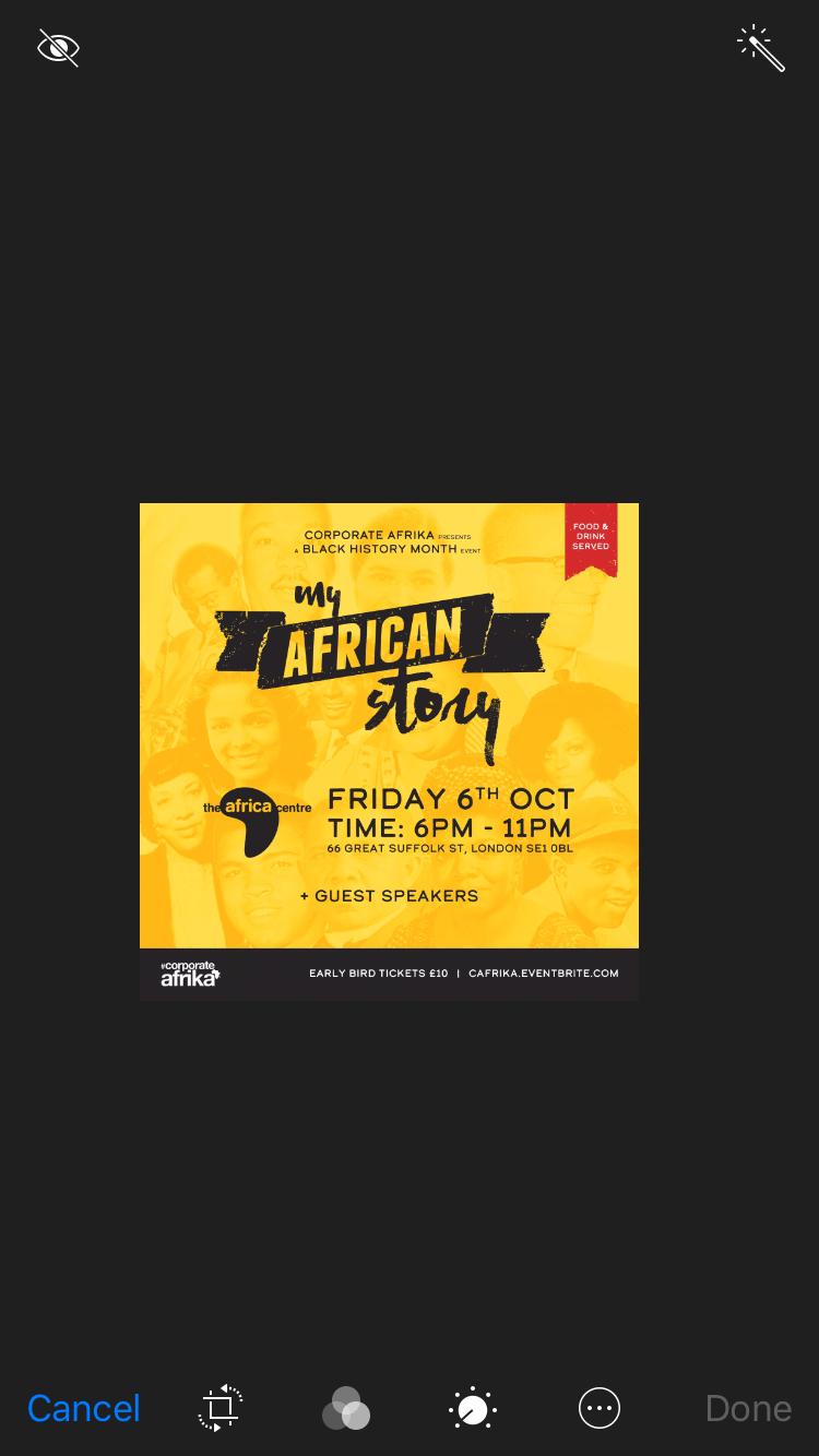 My African Story | Blacknet UK