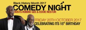Black History Month – Comedy Night | Blacknet UK