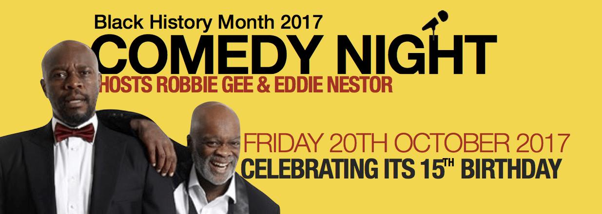 Black History Month – Comedy Night   Blacknet UK