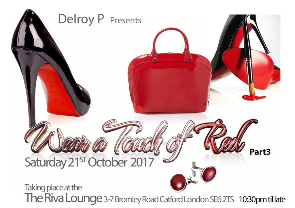 Wear A Touch Of Red | Blacknet UK