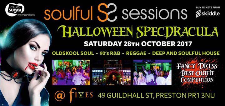 Soulful Sessions Halloween Specdracula | Blacknet UK
