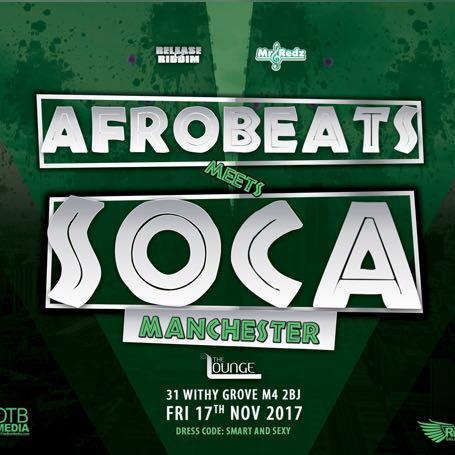 Afrobeats meets Soca - Manchester | Blacknet UK