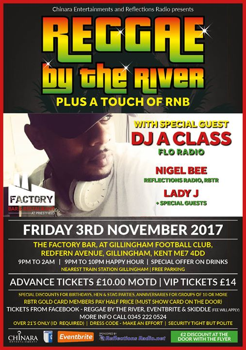 Reggae by the River + a touch of RNB | Blacknet UK