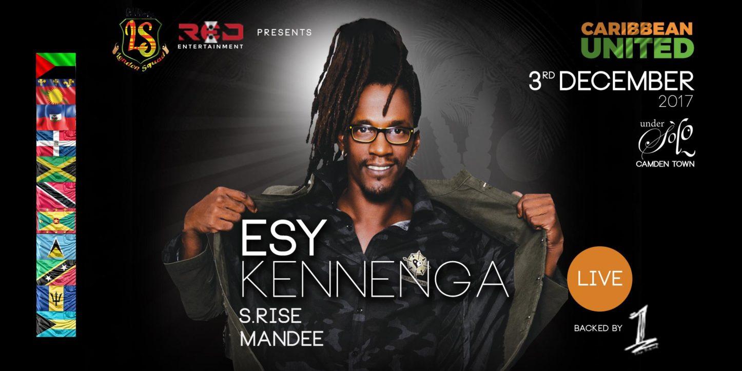 CARIBBEAN UNITED- ESY KENNENGA LIVE | Blacknet UK