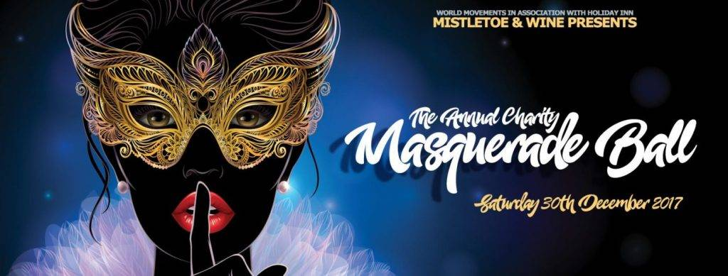 Mistletoe & Wine presents The Annual Charity Masquerade Ball | Blacknet UK