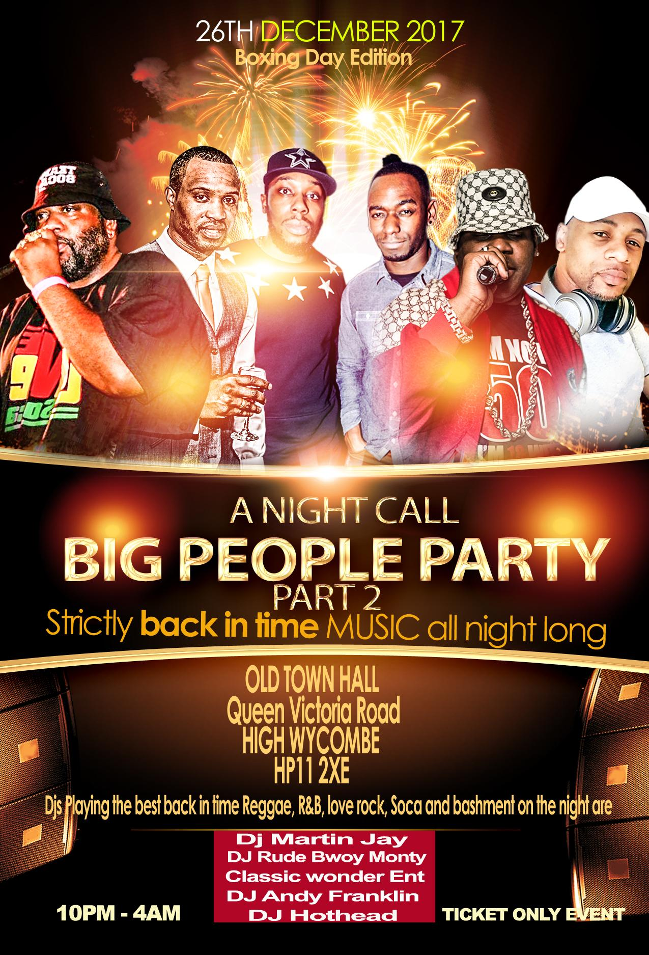 BIG PEOPLE PARTY - Part 2 | Blacknet UK