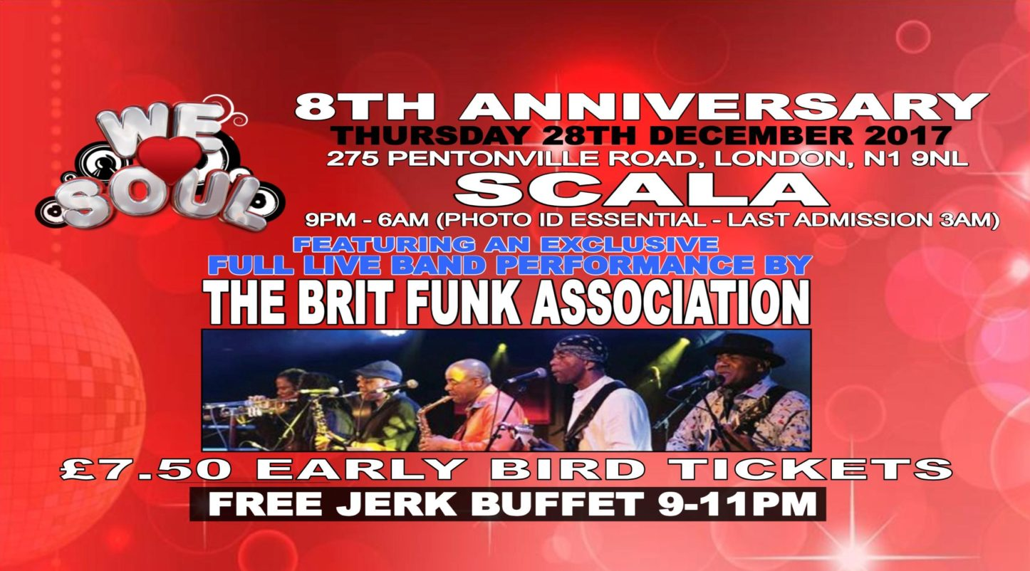 We Love Soul 8th Anniversary - Ft. The Brit Funk Association | Blacknet UK
