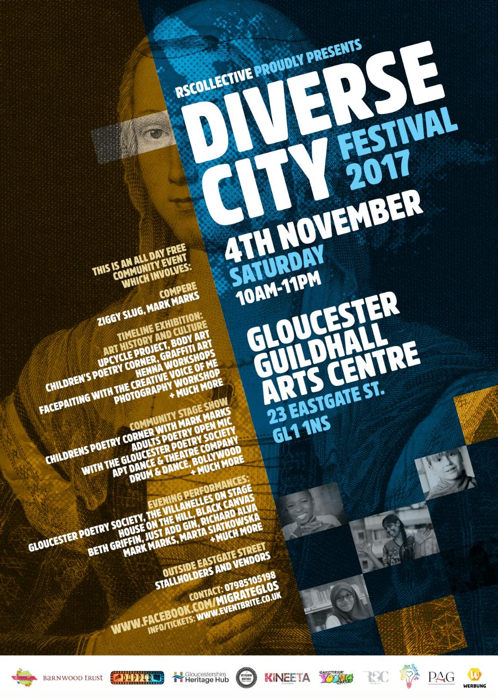 DIVERSE-CITY FESTIVAL 2017 | Blacknet UK