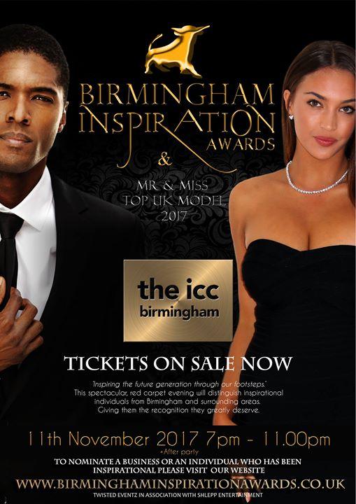 Birmingham Inspiration Awards & Top UK Model Final | Blacknet UK