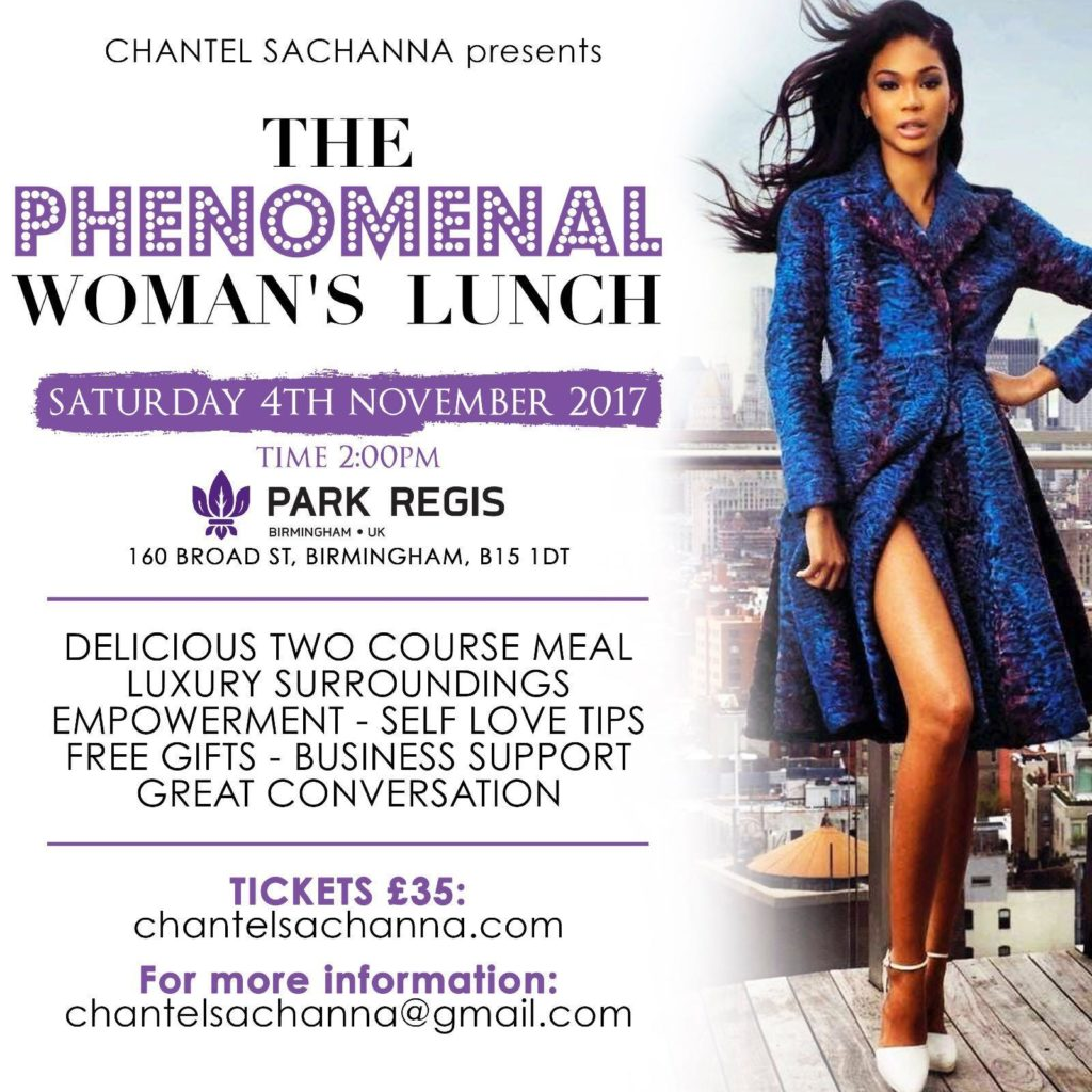The Phenomenal Woman's Lunch | Blacknet UK