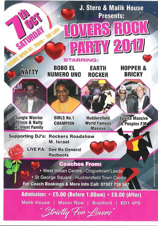 Lovers Rock Party 2017 | Blacknet UK