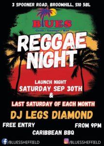 Reggae Night with Legs Diamond | Blacknet UK