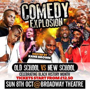 Comedy Explosion | Blacknet UK