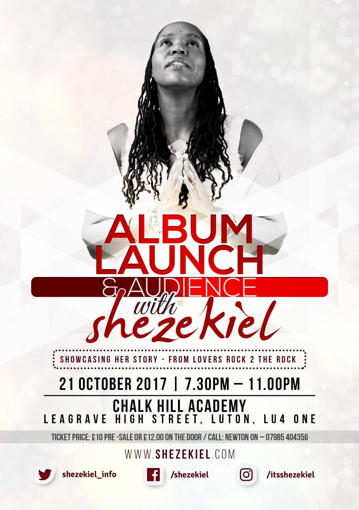 Album Launch & Audience with Shezekiel | Blacknet UK
