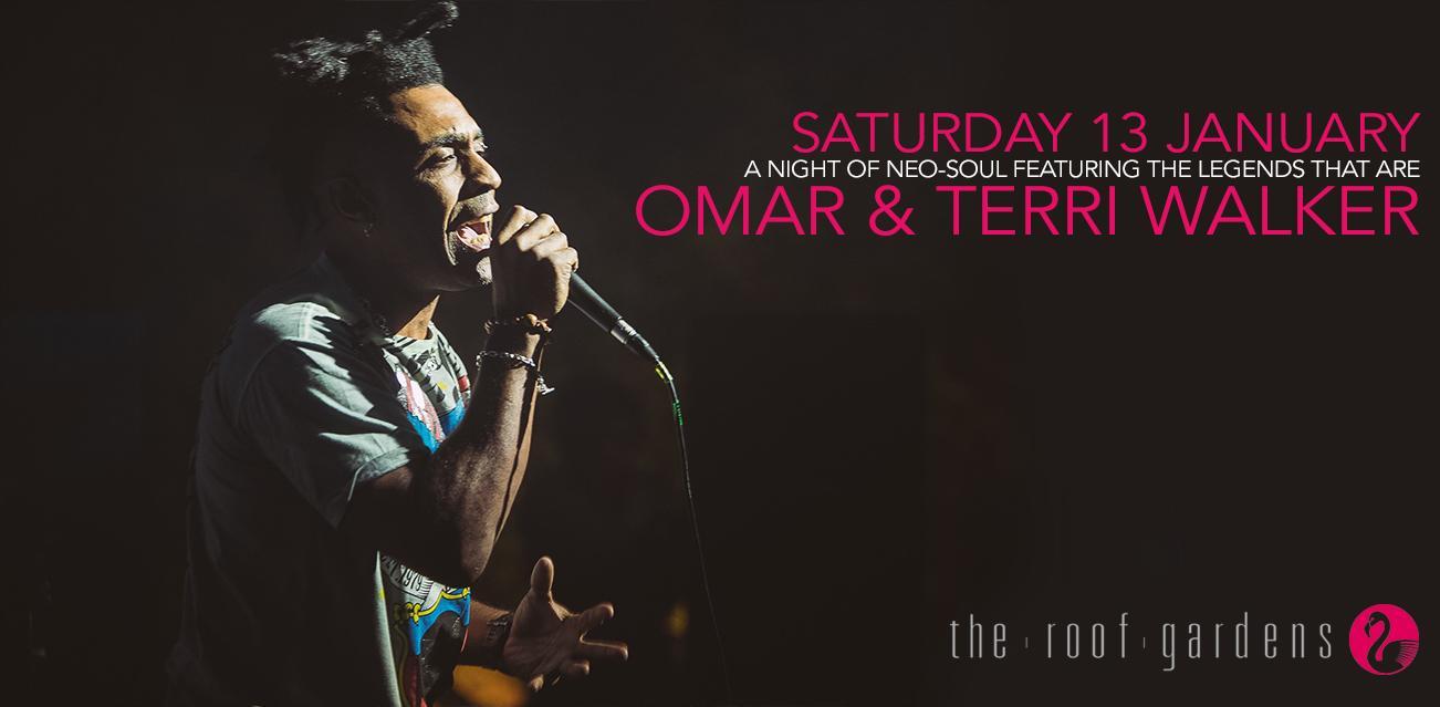 A Night of Neo-Soul : Omar & Terri Walker | Blacknet UK