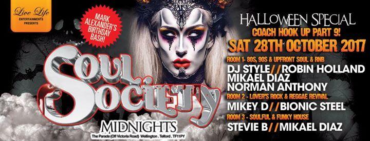 Soul Society Halloween Special | Blacknet UK