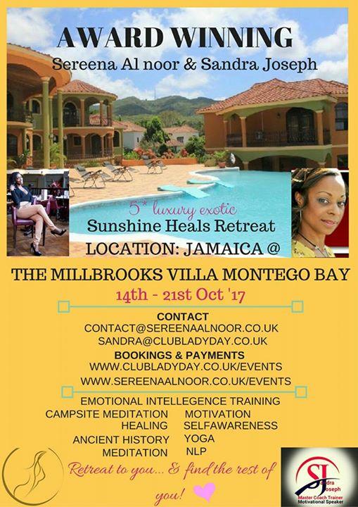 Sunshine Heals Retreat - Jamaica October 2017 | Blacknet UK