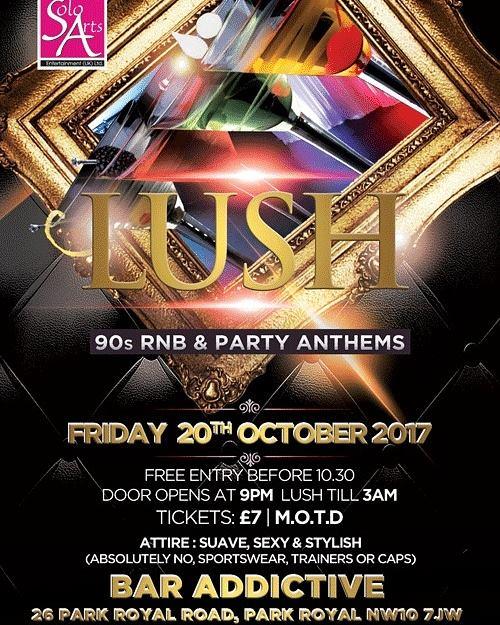 Lush 90's RnB & Party Anthems | Blacknet UK