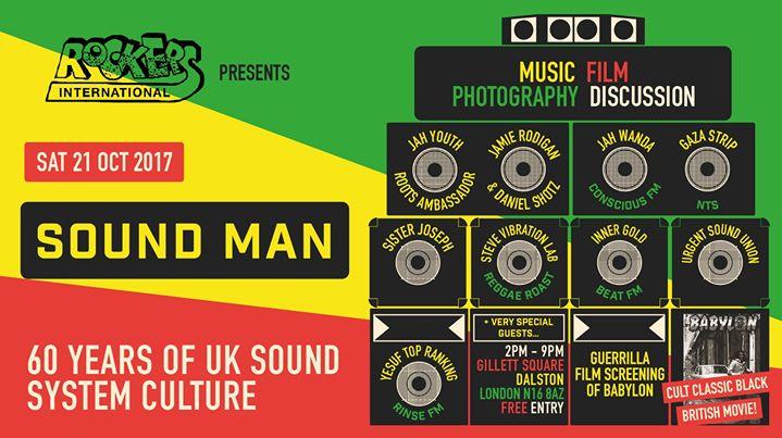 Sound Man: 60 Years of UK Sound System Culture | Blacknet UK